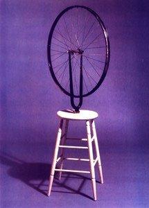 duchamp ruota  di bicicletta